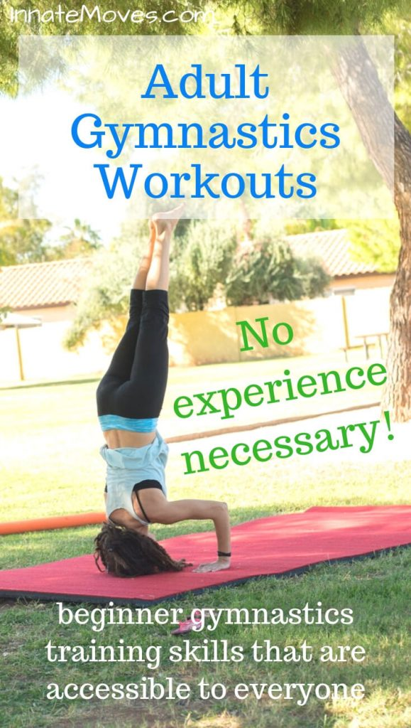 Adult gymnastics workouts at home!