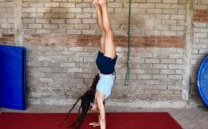 adult gymnastics - handstands