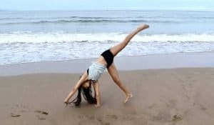 adult gymnastics skills - cartwheel