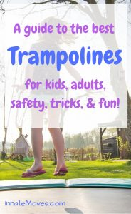 Trampoline Buying Guide - The Best Trampoline for Gymnastics & Safest Trampoline