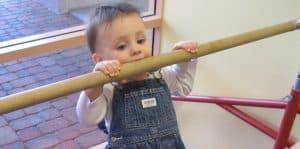 Baby Gymnastics - When to Start Gymnastics -Tumbling and Gymnastics Benefits