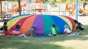 parachute games for kids
