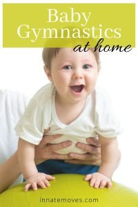 Baby Gymnastics Pin